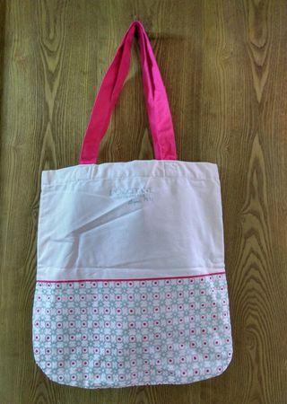 🚚 L'OCCITANE購物袋,淡粉紅色,寬37.5x長41cm