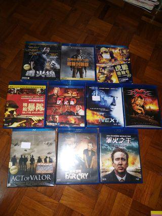 Blu-ray軍火之王 海豹突擊隊 next 導火線 猛火爆 等