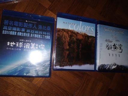 Blu ray nature color 地球很美 看見台灣