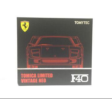 Tomytec Limited Vintage Neo Ferrari F40 Red 法拉利