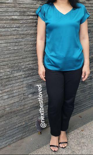 Minimal Turquoise Tops #bapau
