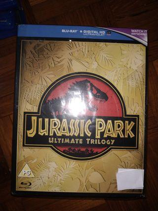 Blu-ray 侏羅紀公園中文字幕 藍光碟