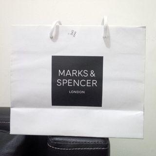 Marks & Spencer Paperbag PRELOVED like NEW