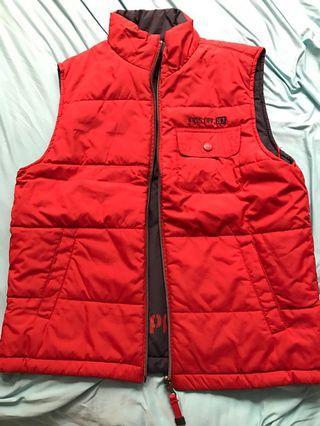 reversible warm jacket (size S)