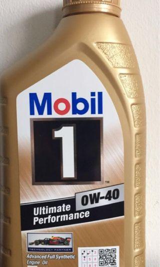 Mobil 1 engine oil 0w-40 1L