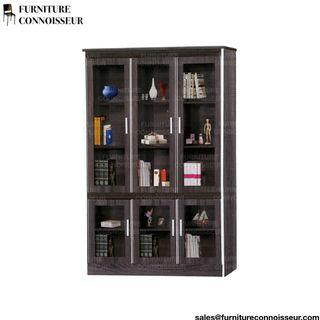 4ft - 6 Door Display Cabinet (Glass Door)