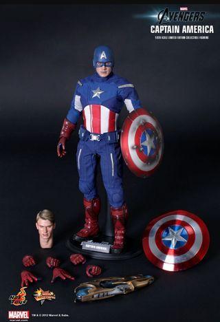 Hot Toys Avengers Captain America (End Game)