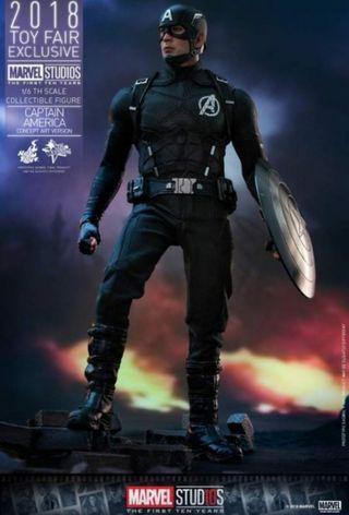 Hot Toys Captain America Concept Art