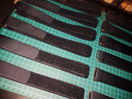 Velcro straps for battery