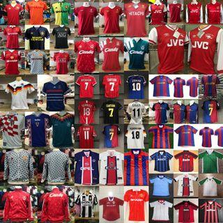 All Clubs Soccer Retro Vintage Shirts Collection!