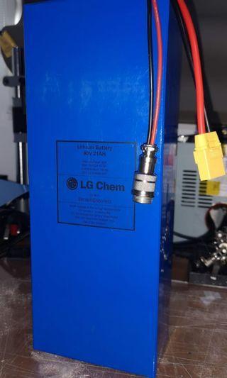 🚚 Custom made LGMJ1 batteries