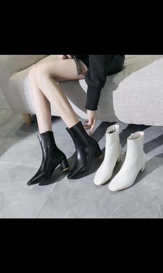 全新白靴實體與照片相同 尺寸偏大38號