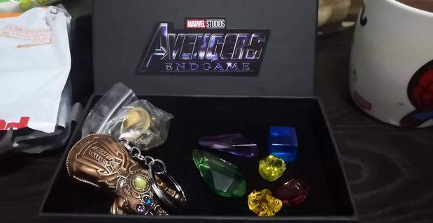 Avenger Endgame key chain set gift