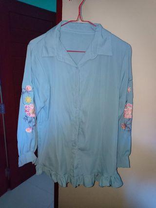 rufle blouse