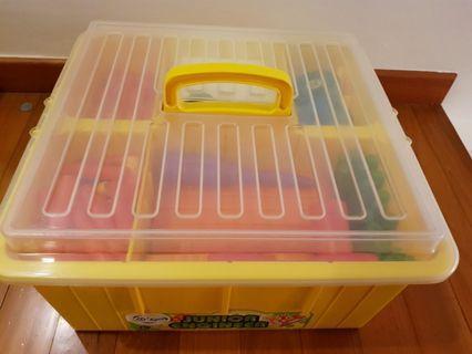 Complete, 160 pc Growing Fun Gigo Junior Engineer set