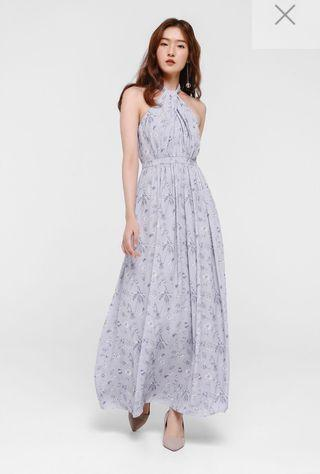 1965a383a617 halter dress maxi | Women's Fashion | Carousell Singapore