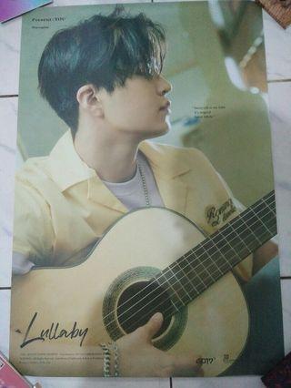Poster GOT7 Youngjae Present YOU album
