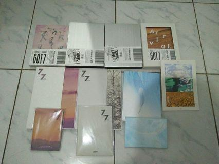 Album GOT7 unsealed