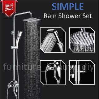 Full Set with Mixer Rain Shower@ $79.99 NETT High Quality Rain Shower Set