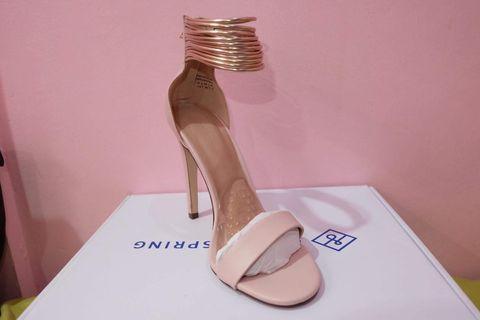 Zeta Light Pink Women's High Heels