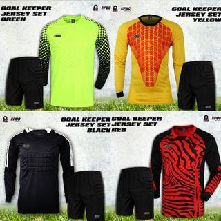 Goalkeeper Kit with Protection Pads (Top + Pant)