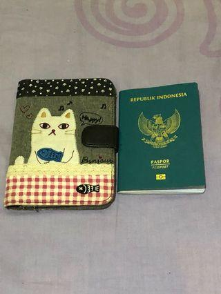 Passport Case Cutie Cat