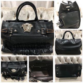 Versace Pallazo Fringe Handbag