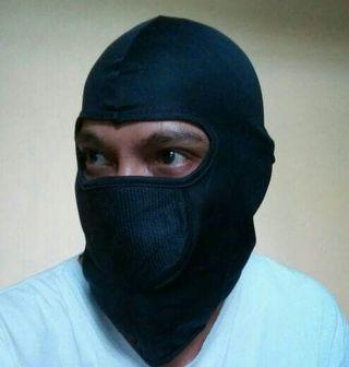 Balaclava masker ski riding full face warna hitam