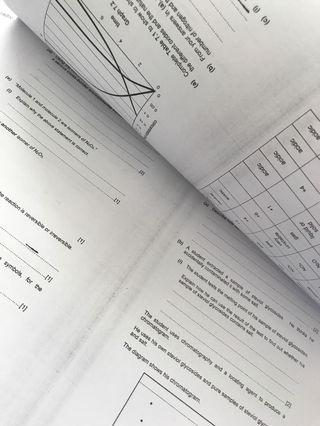 4x other schools sec 4 Chemistry papers (1&2)