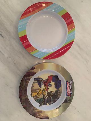 Melamine Kids Plates