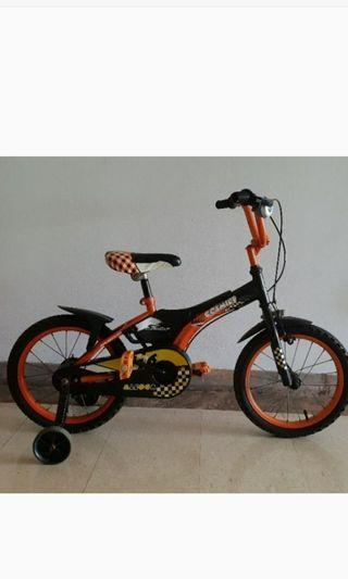 ad3deaa457c Aleoca kids bicycle 16 inch - well maintained, seldom used