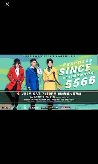Concert Tickets 5566