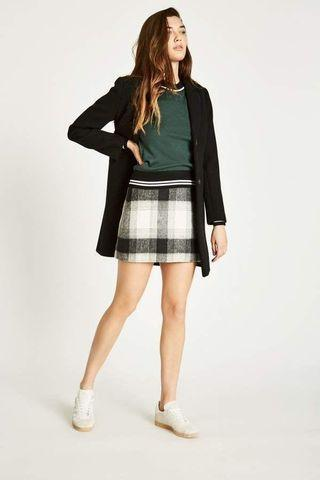 Jack Wills Farleton A-Line Mini Skirt