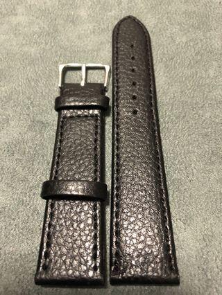 🚚 20mm Vintage Heritage Black Watch Straps