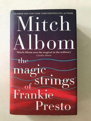 🚚 Mitch Albom - The Magic Strings of Frankie Presto (hard cover)