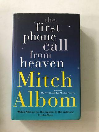 🚚 Mitch Albom - The First Phone Call from Heaven (hard cover)