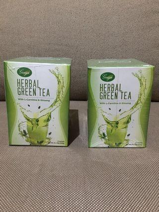 Ginga Herbal Green Tea with L-Carnitine and Ginseng