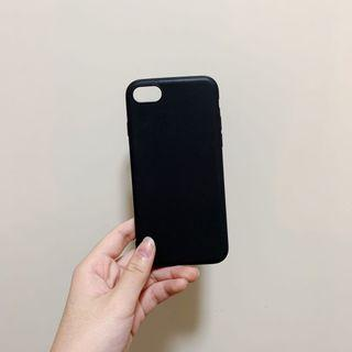 iPhone 7/7s Black Phone Cover