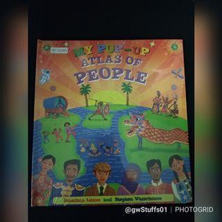 📚New📚 My Pop-Up Atlas of People