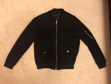Zara light bomber jacket