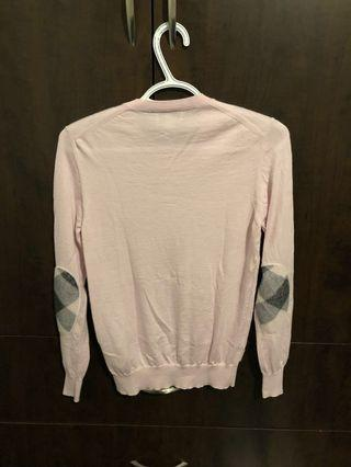 Burberry pink sweater authentic