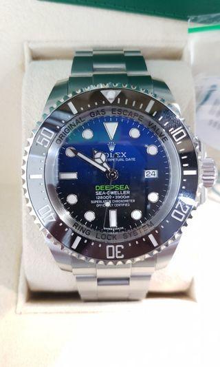 🚚 rolex deep sea blue james cameron 116660