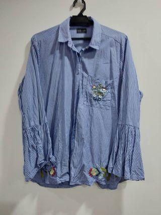 Blouse blue xl