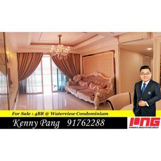 For Sale : 4BR @ Waterview Condominium