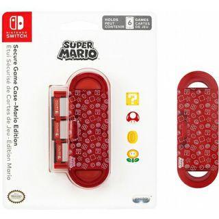 NINTENDO SWITCH super Mario Bros Secure Game Case