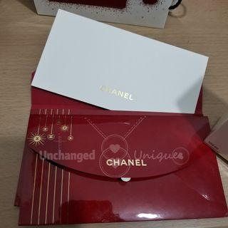 CHANEL Dressed in Red Limited Edition Gift Card with Envelope 限量紅色禮品咭連禮封