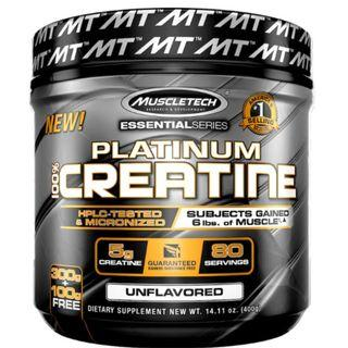 80 servings, MuscleTech, Platinum Creatine, Creatine Monohydrate