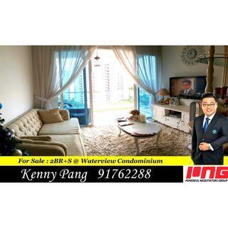 For Sale : 2BR+S @ Waterview Condominium