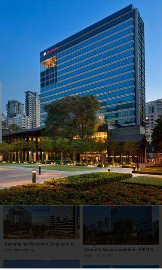 2N Hotel Stay at Ramada Zhongshan Park voucher