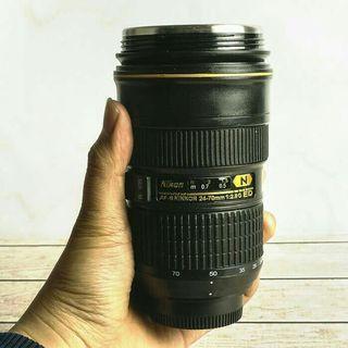 Tumbler/Mug/Tempat Kopi/Tempat Minum unik Lensa Kamera